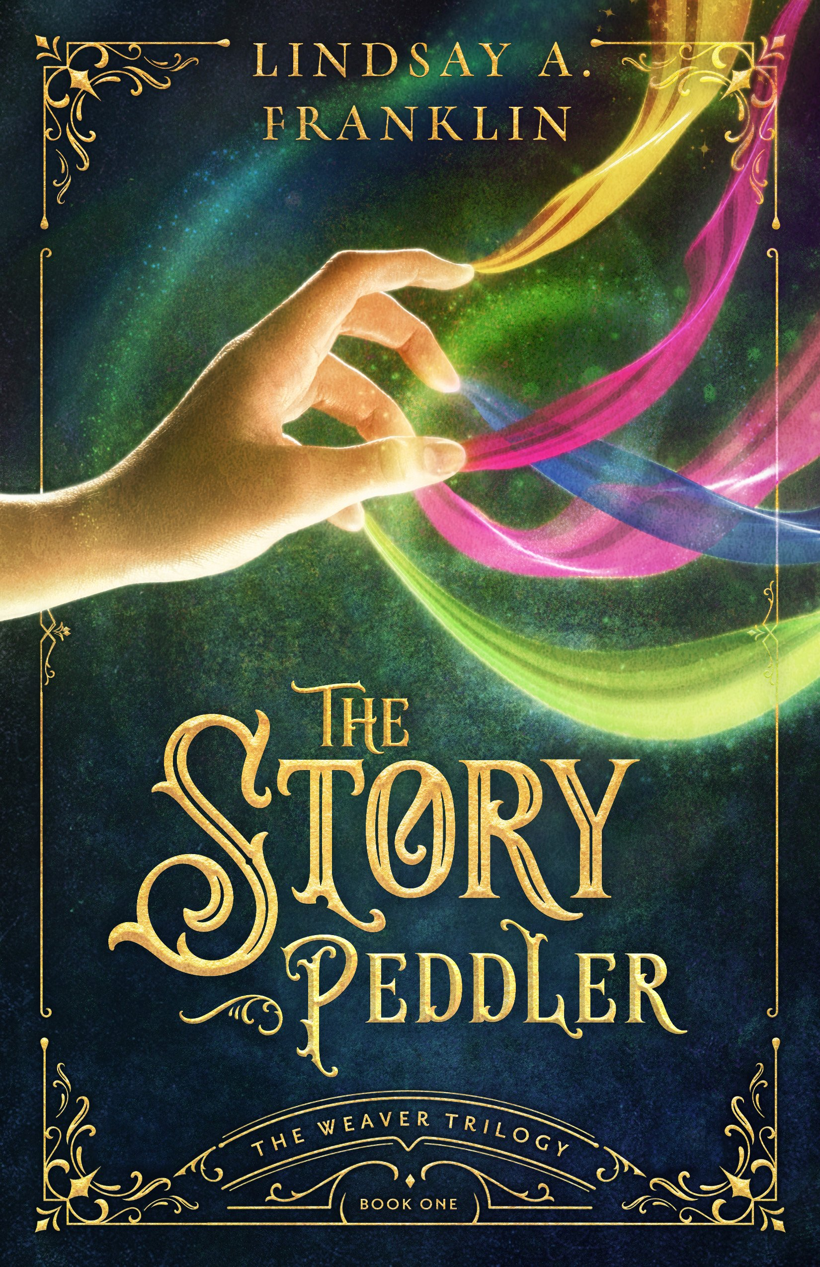 The Story Peddler Cover