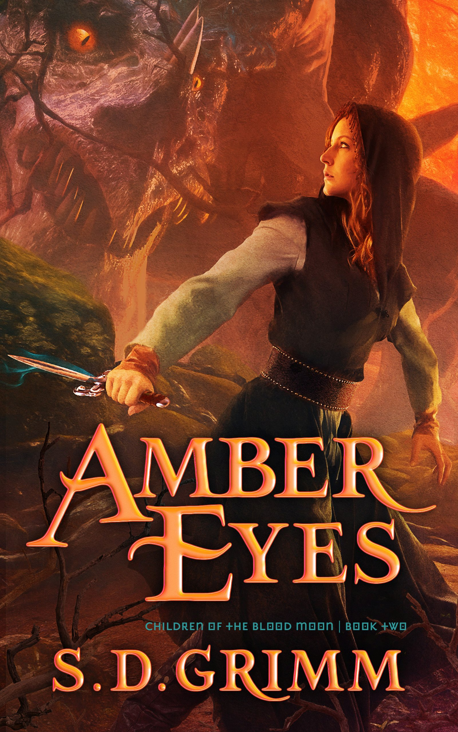 amber eyes cover