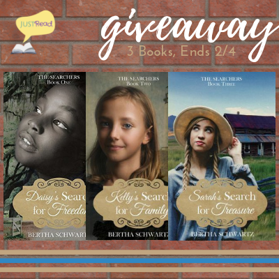 the searchers series giveaway