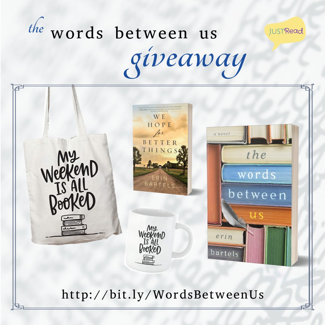 The Words Between Us JustRead Takeover Tour Giveaway