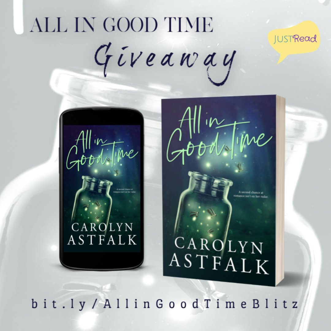 All in Good Time JustRead Social Media Blitz Giveaway