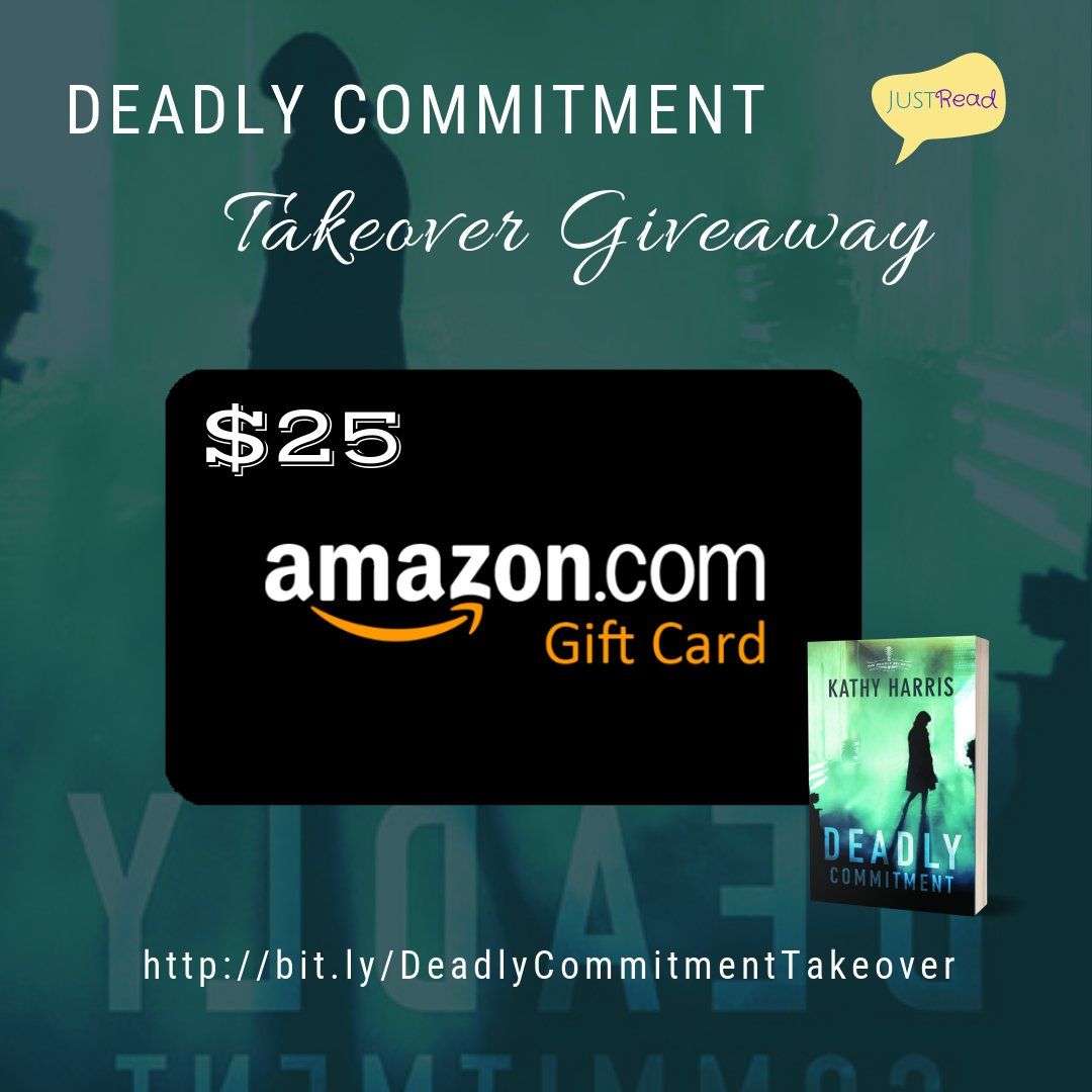 Deadly Commitment JustRead Takeover Giveaway