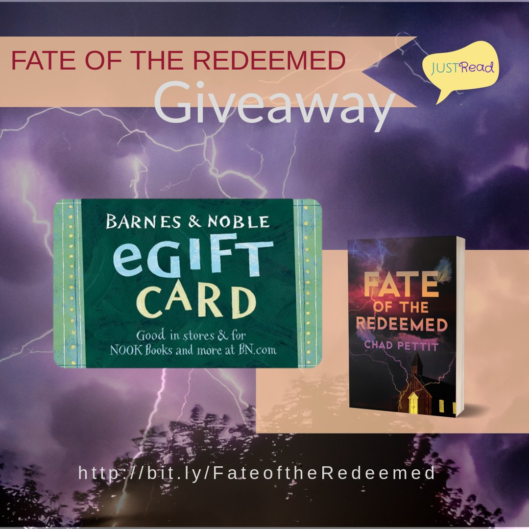 Fate of the Redeemed JustRead Giveaway