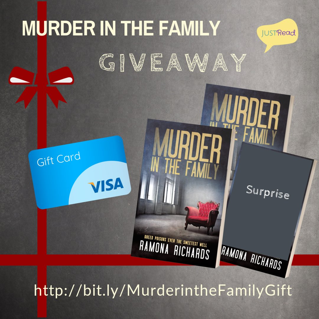Murder in the Family JustRead Blog Tour Giveaway