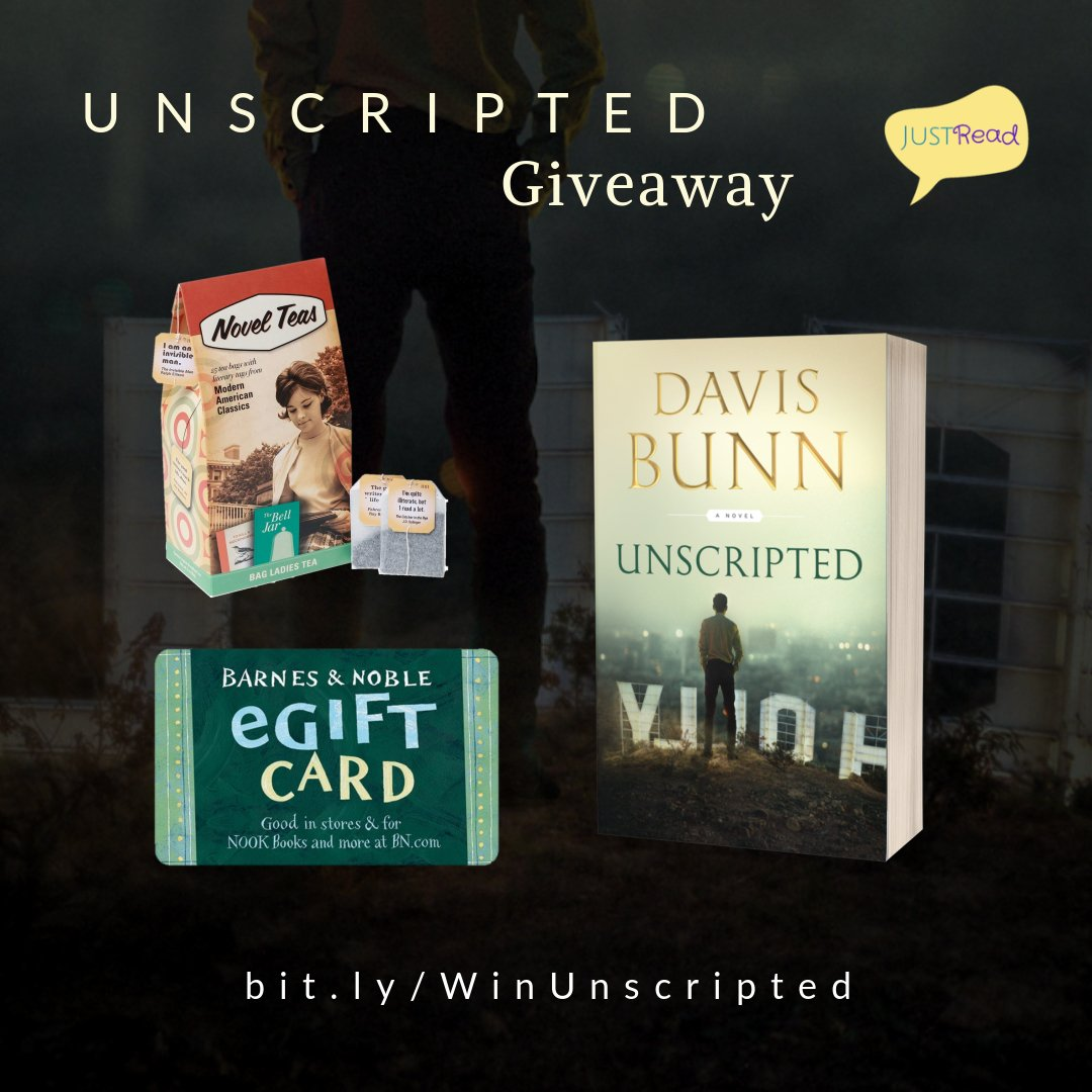 Unscripted JustRead Takeover Giveaway