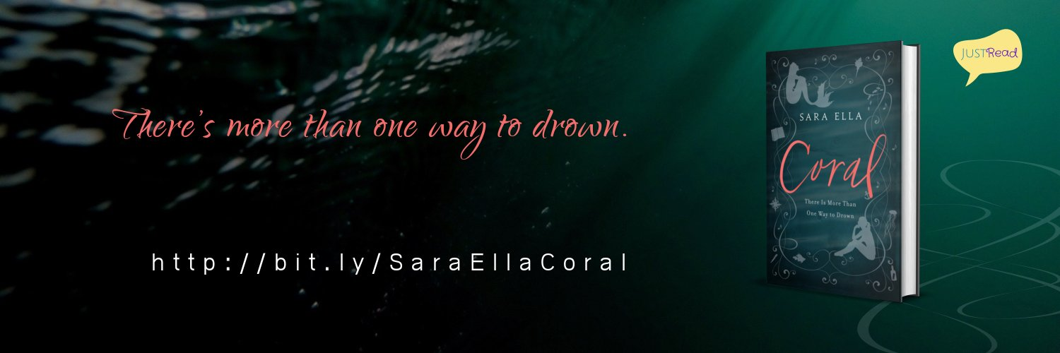 Coral by Sara Ella JustRead Takeover Tour