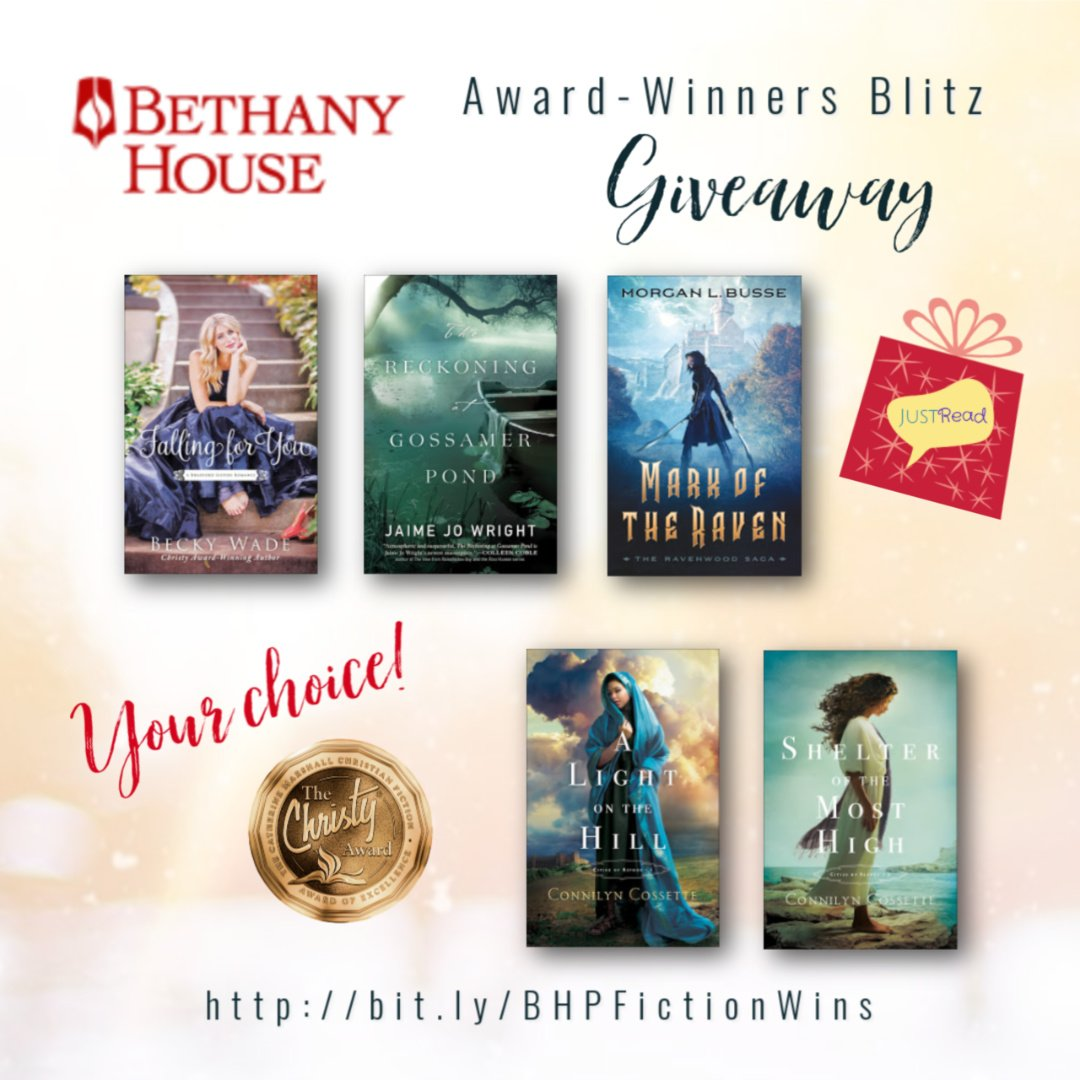 Bethany House Fiction's Award-Winners Blitz Giveaway