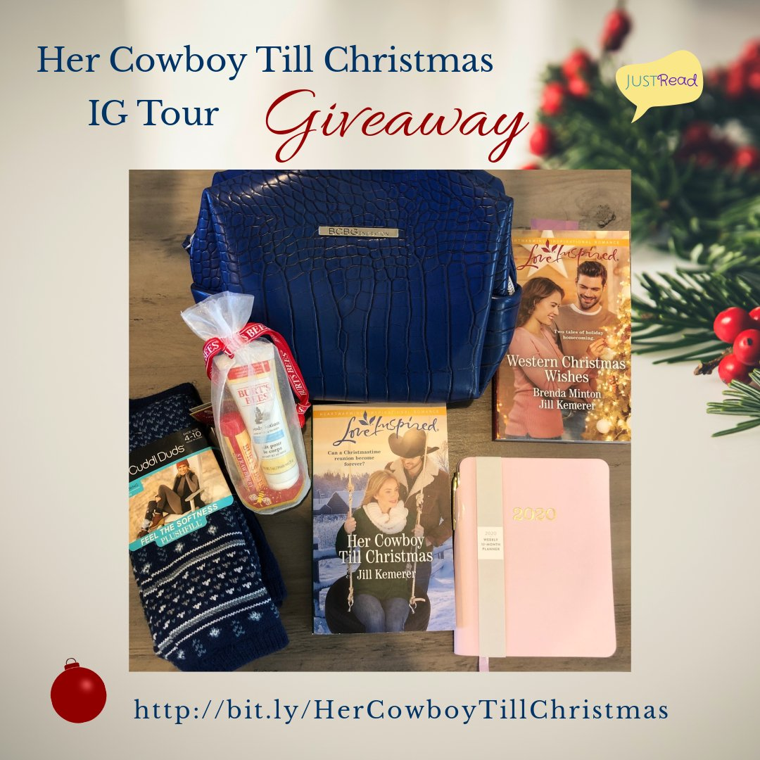 Her Cowboy Till Christmas JustRead Giveaway