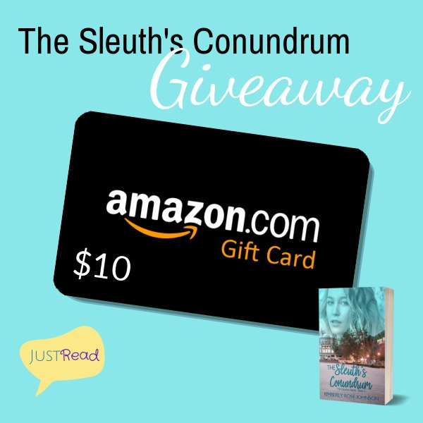 The Sleuth's Conundrum JustRead Giveaway