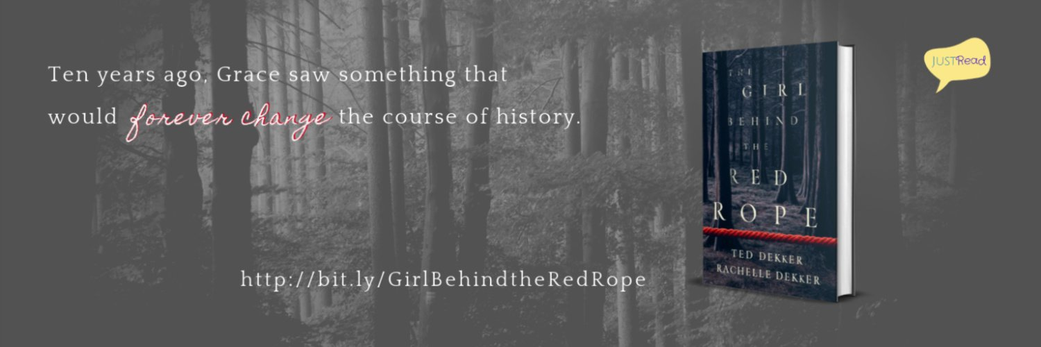 The Girl Behind the Red Rope quote banner