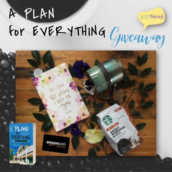 A Plan for Everything JustRead Giveaway