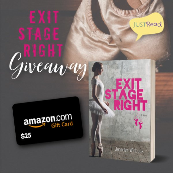 Exit Stage Right JustRead Giveaway