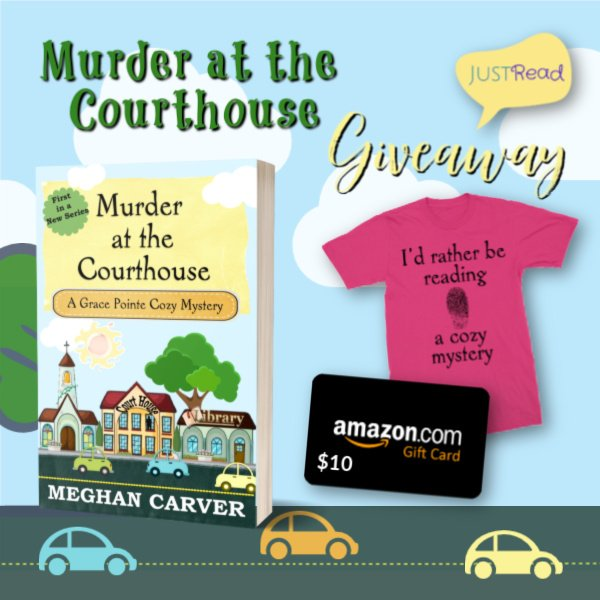 Murder at the Courthouse JustRead Giveaway