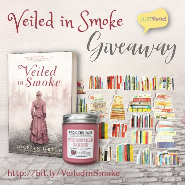 Veiled in Smoke JustRead Takeover Giveaway