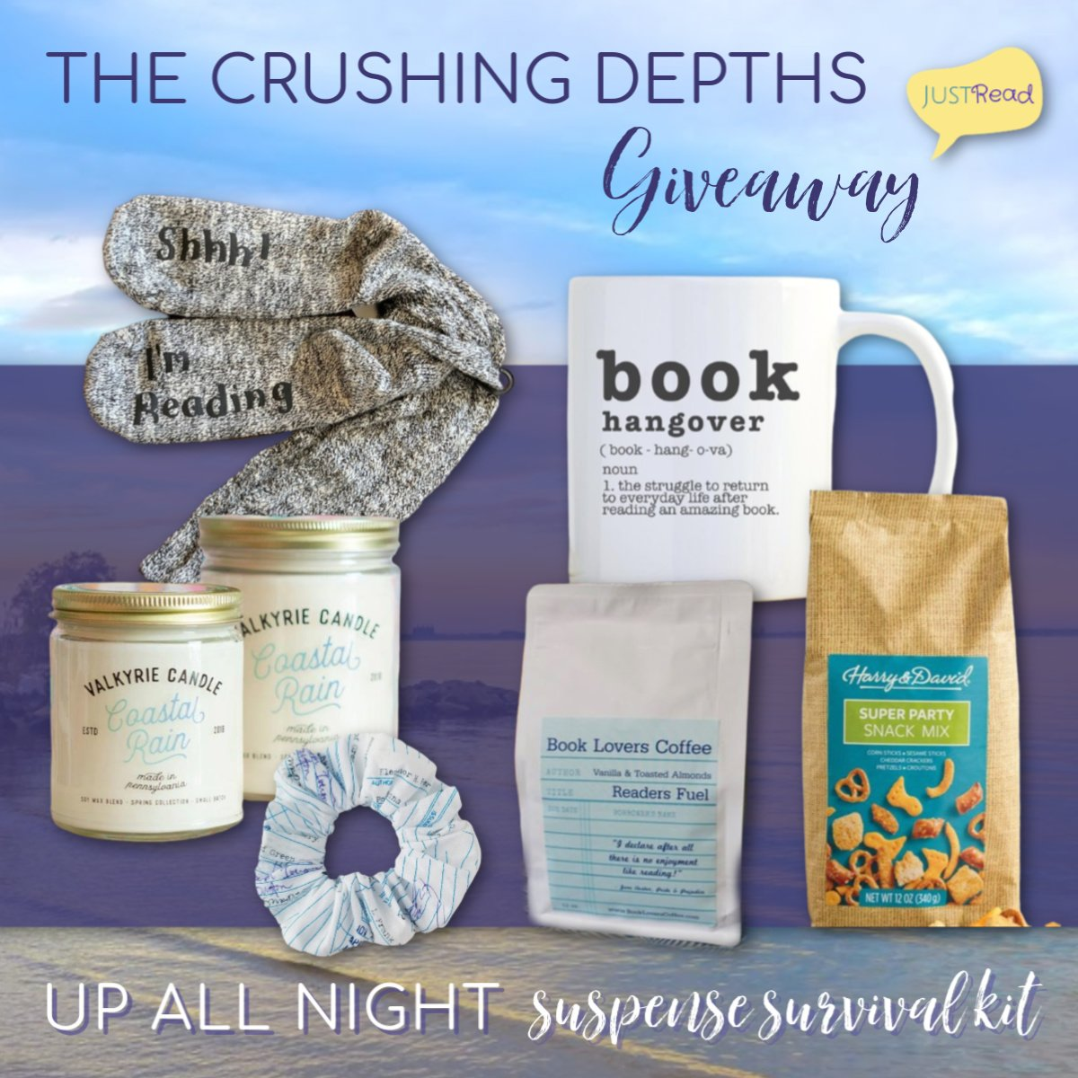 The Crushing Depths JustRead Giveaway