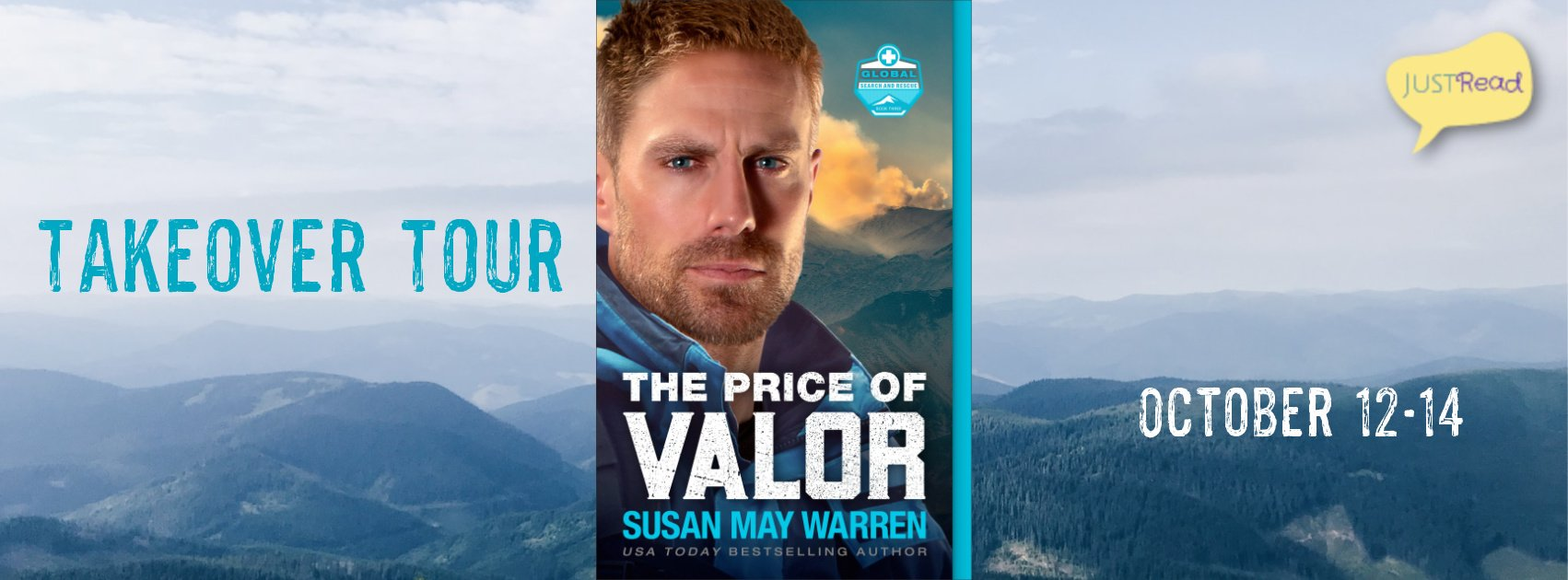 The Price of Valor JustRead Takeover Tour