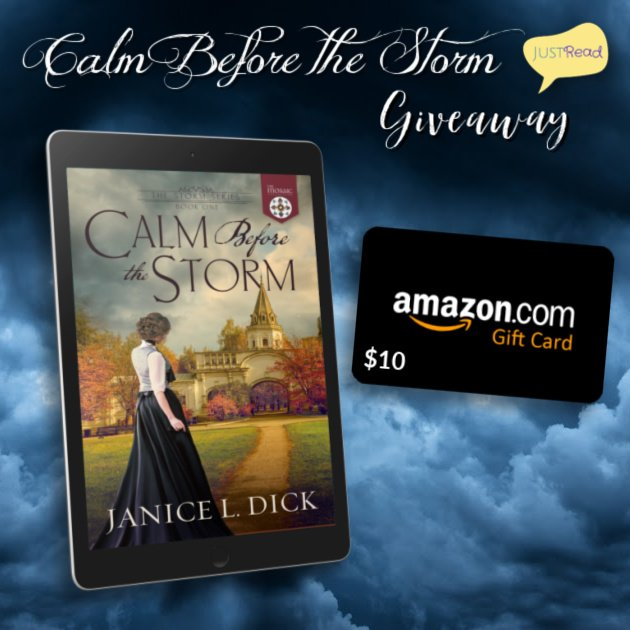 Calm Before the Storm JustRead Giveaway