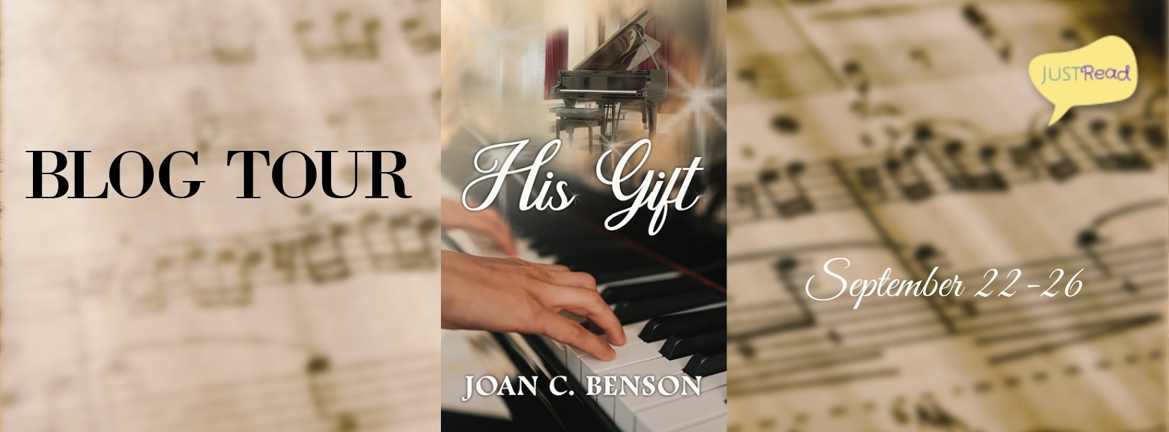 His Gift JustRead Blog Tour