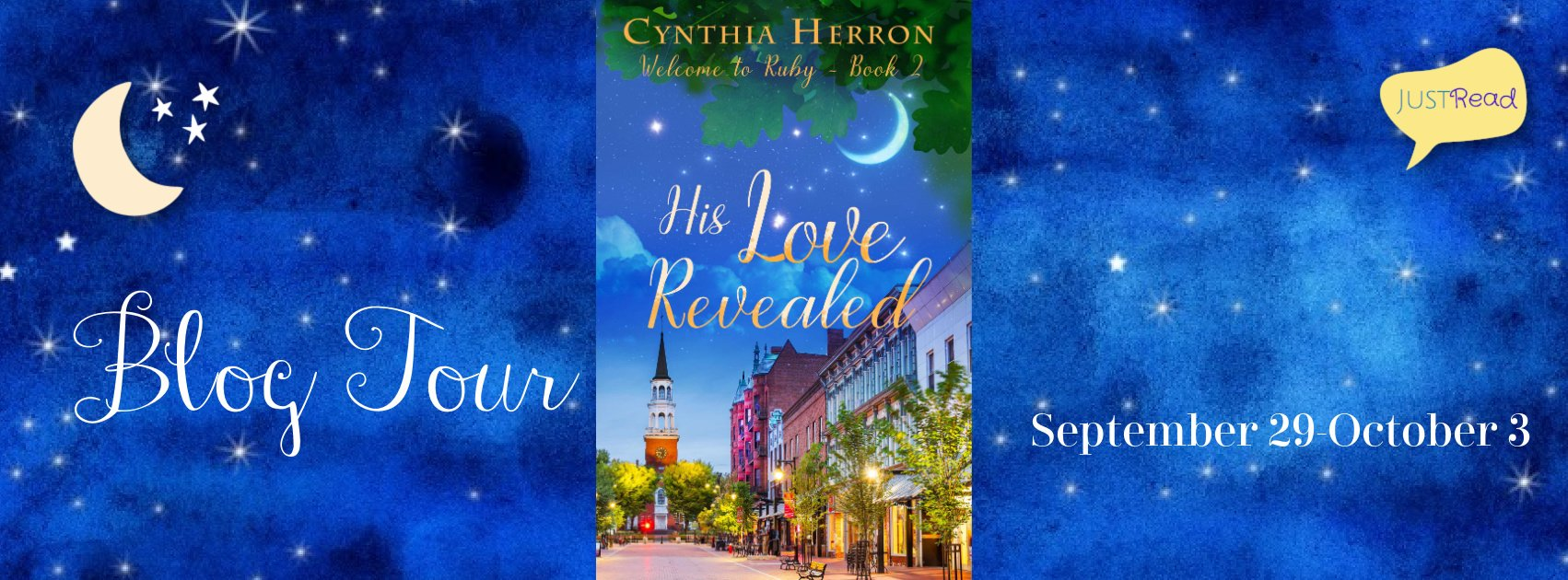 His Love Revealed JustRead Blog Tour