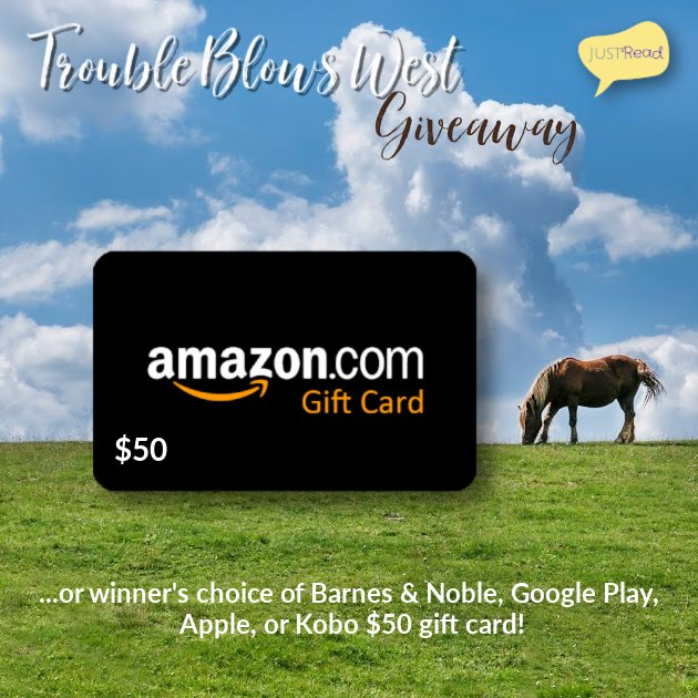 Trouble Blows West JustRead Giveaway
