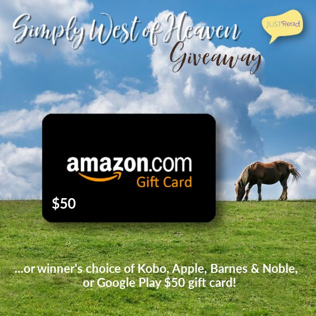 Simply West of Heaven JustRead Giveaway