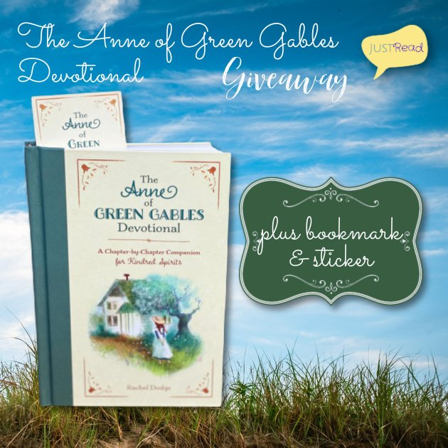 The Anne of Green Gables Devotional JustRead Giveaway