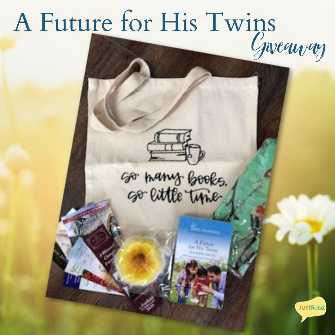 A Future for His Twins JustRead Giveaway