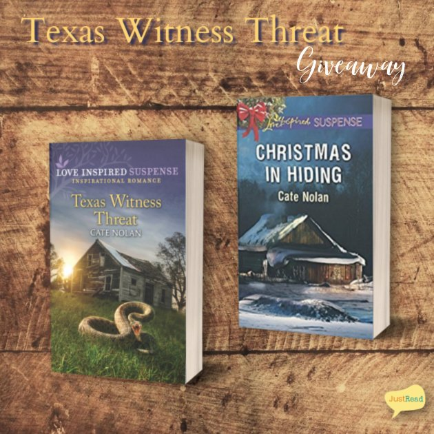 Texas Witness Threat JustRead Giveaway