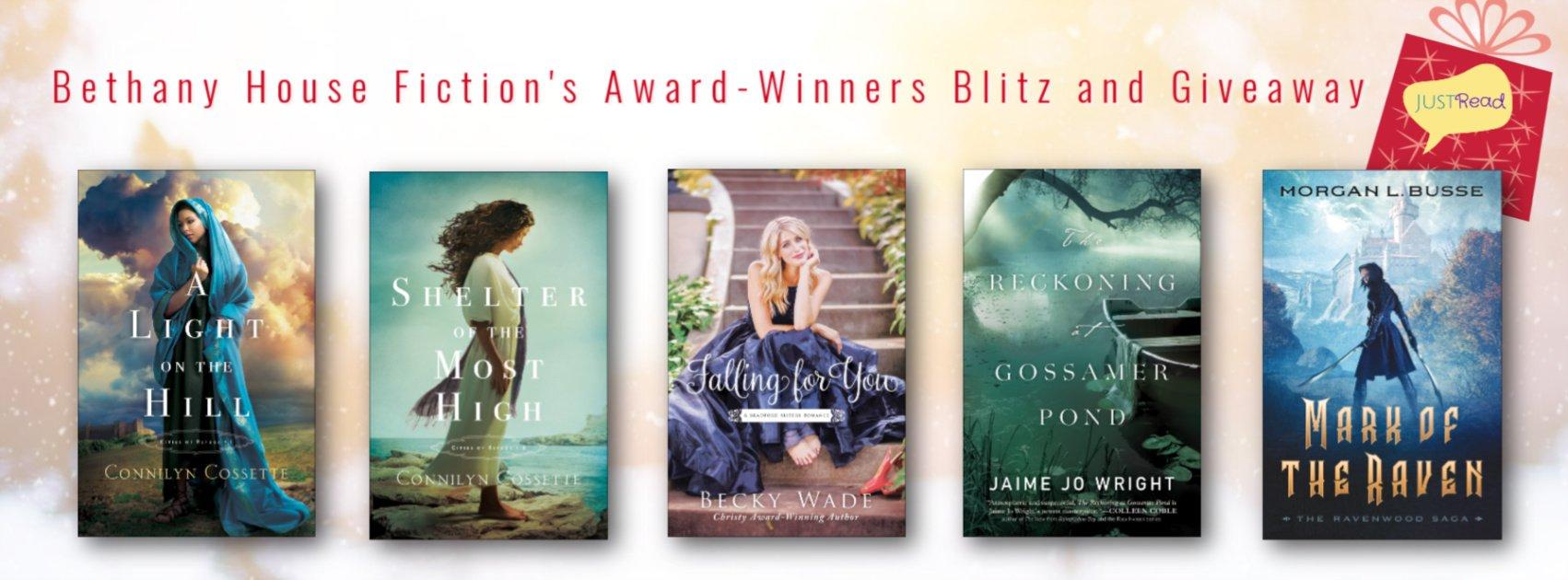 Bethany House Fiction's Award-Winners Blitz