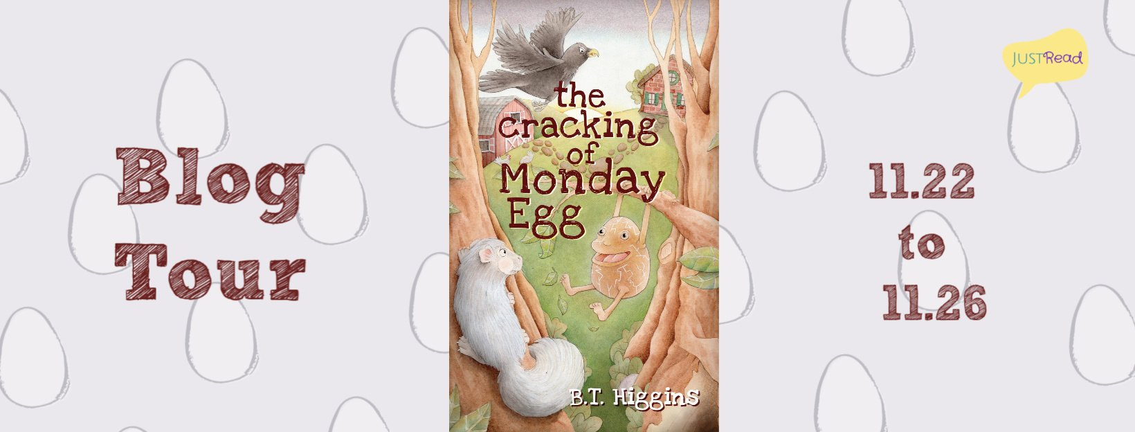 The Cracking of Monday Egg JR Blog Tour