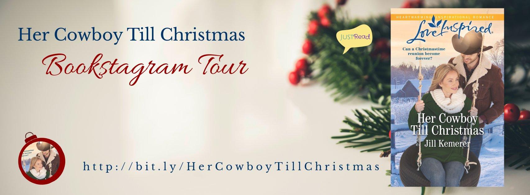 Her Cowboy Till Christmas JustRead Bookstagram Tour