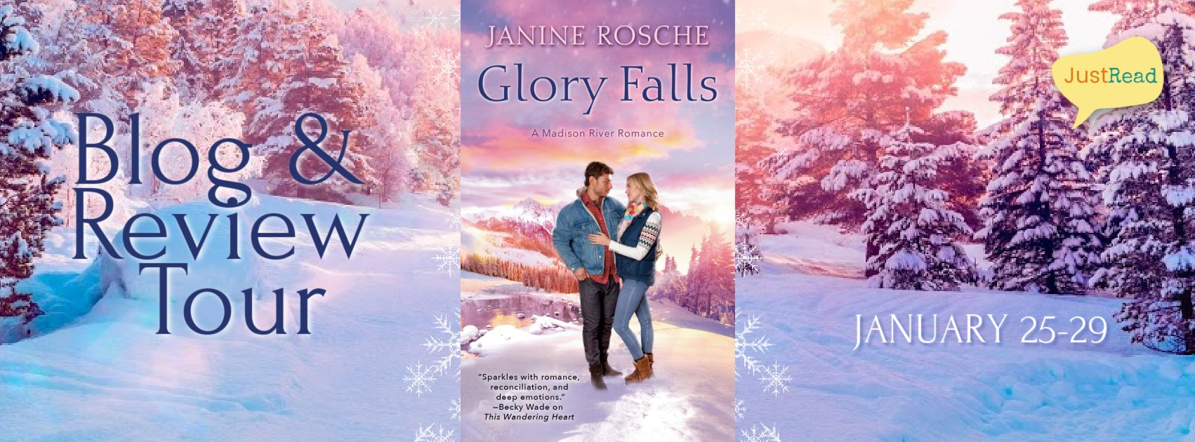 Glory Falls JustRead Blog + Review Tour