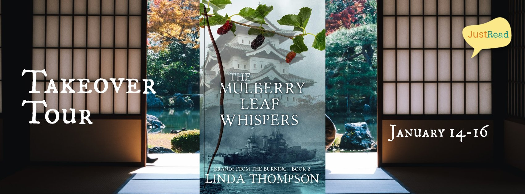 The Mulberry Leaf Whispers JustRead Takeover Tour