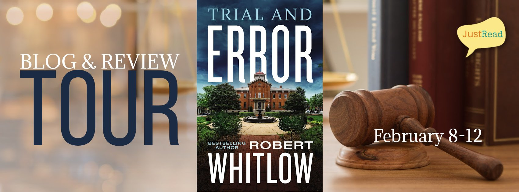 Trial and Error JustRead Blog + Review Tour