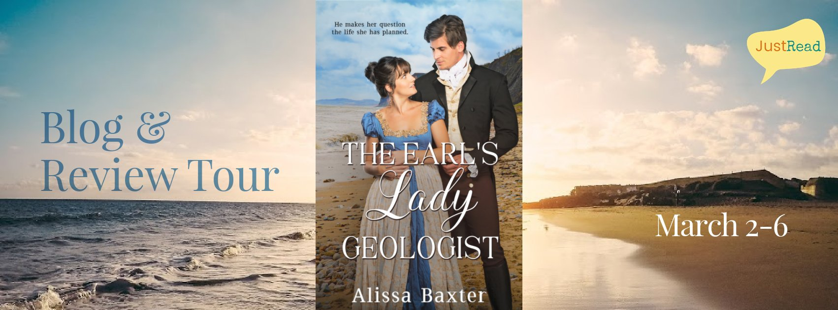 The Earl's Lady Geologist JustRead Blog & Review Tour