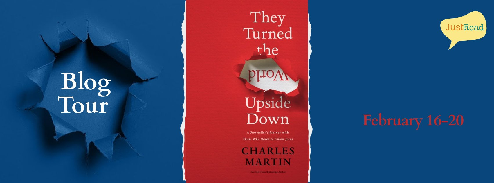 They Turned the World Upside Down JustRead Blog Tour