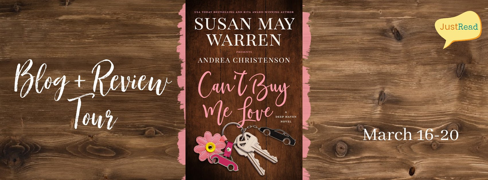 Can't Buy Me Love JustRead Blog + Review Tour