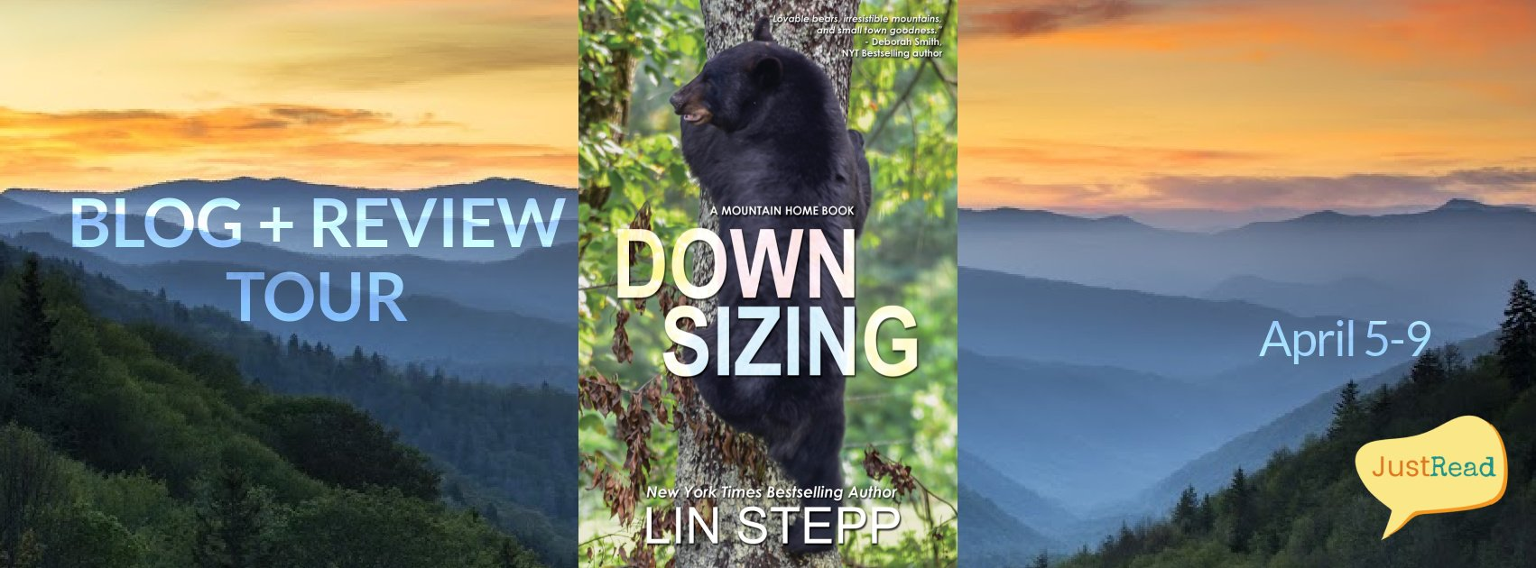 Downsizing JustRead Blog + Review Tour