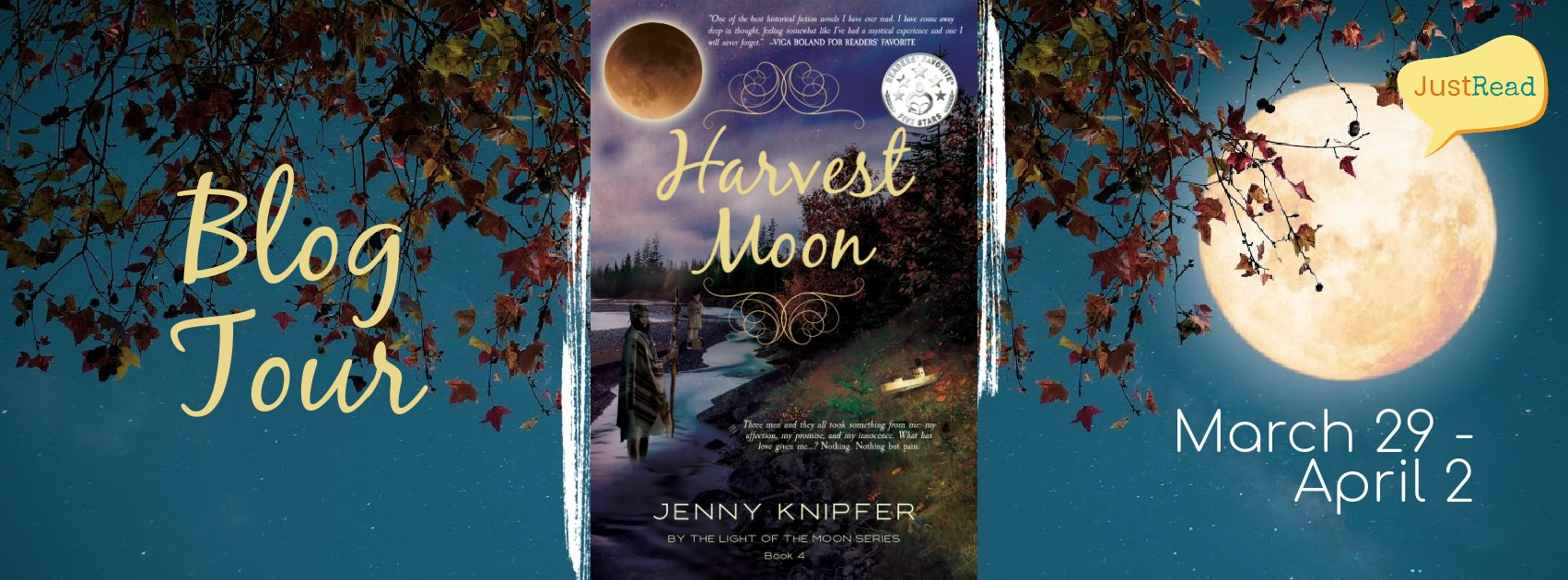 Harvest Moon JustRead Blog Tour