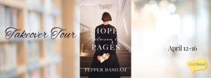 Hope Between the Pages JustRead Takeover Tour