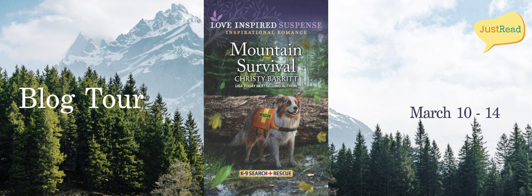 Mountain Survival JustRead Blog Tour