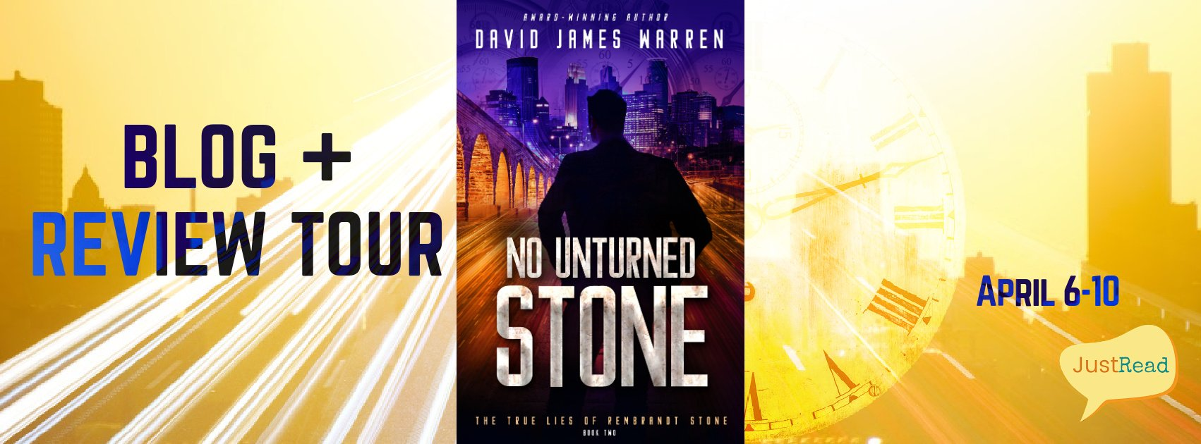No Stone Unturned JustRead Blog + Review Tour
