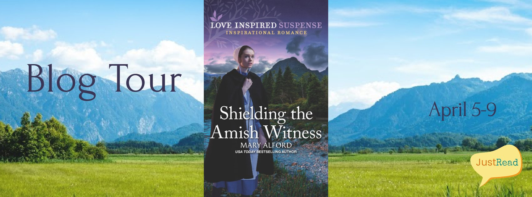Shielding the Amish Witness Blog Tour: Author Interview + Blog Tour