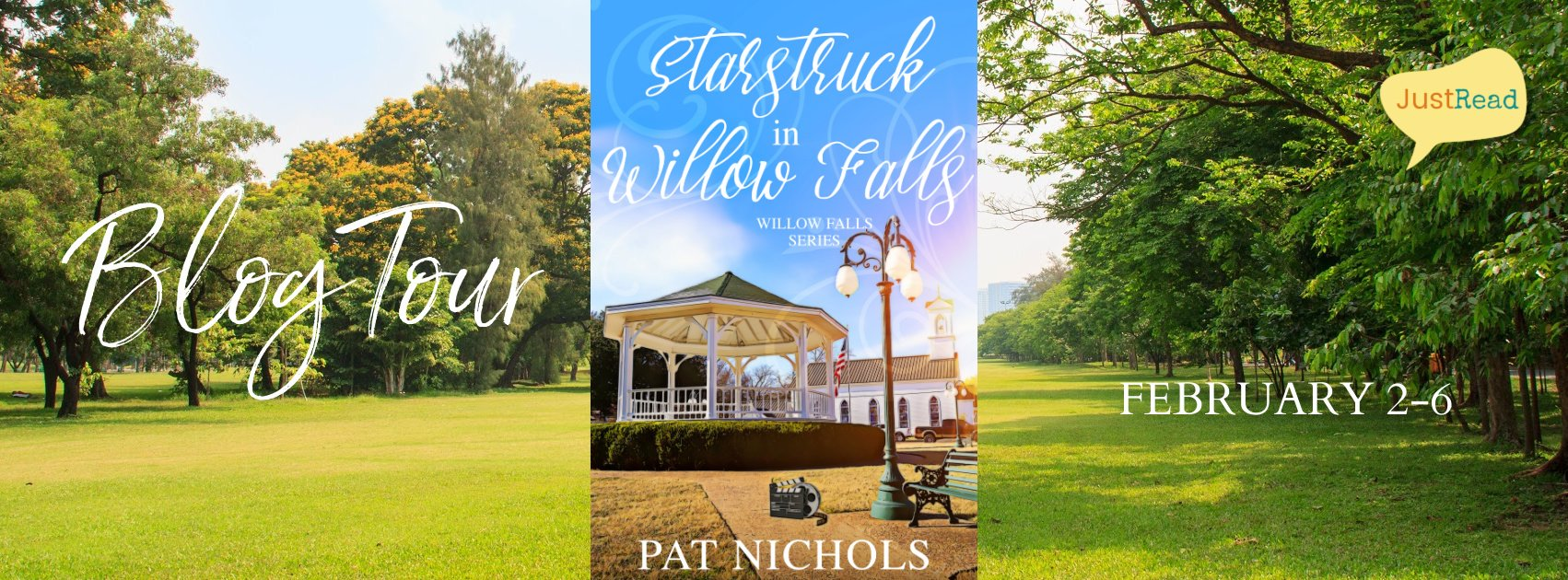 Starstruck in Willow Falls JustRead Blog Tour