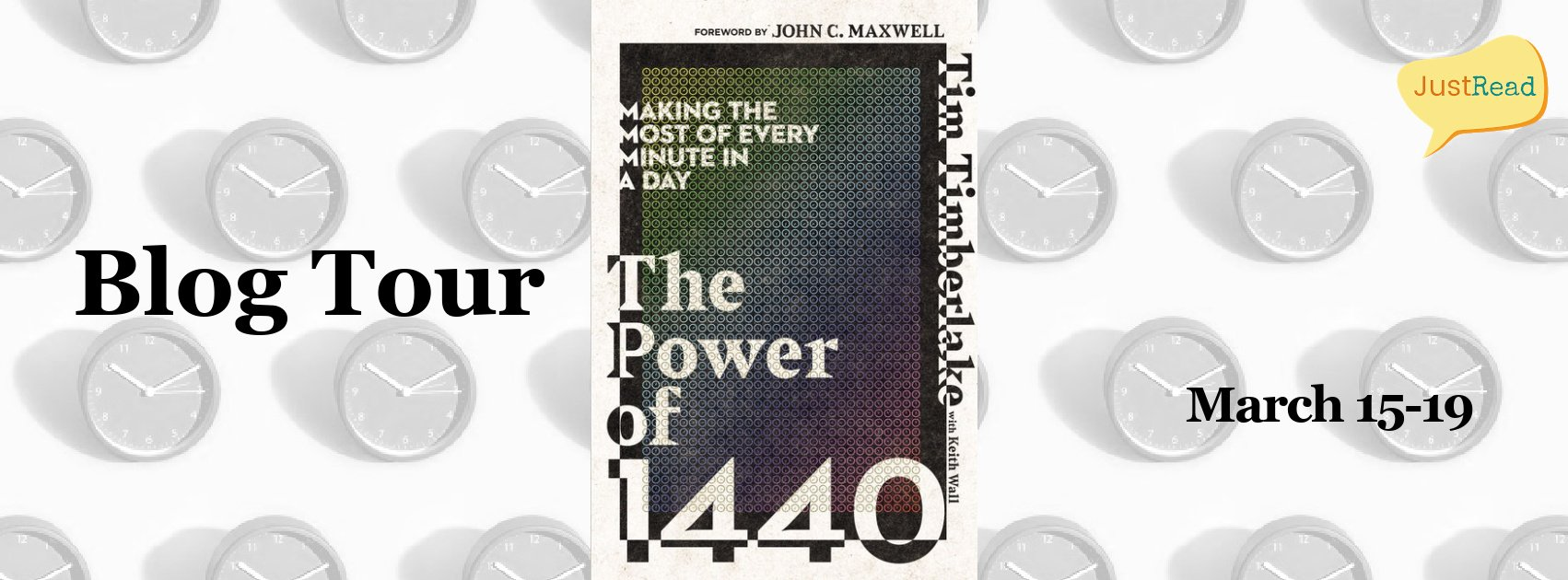 The Power of 1440 JustRead Blog Tour