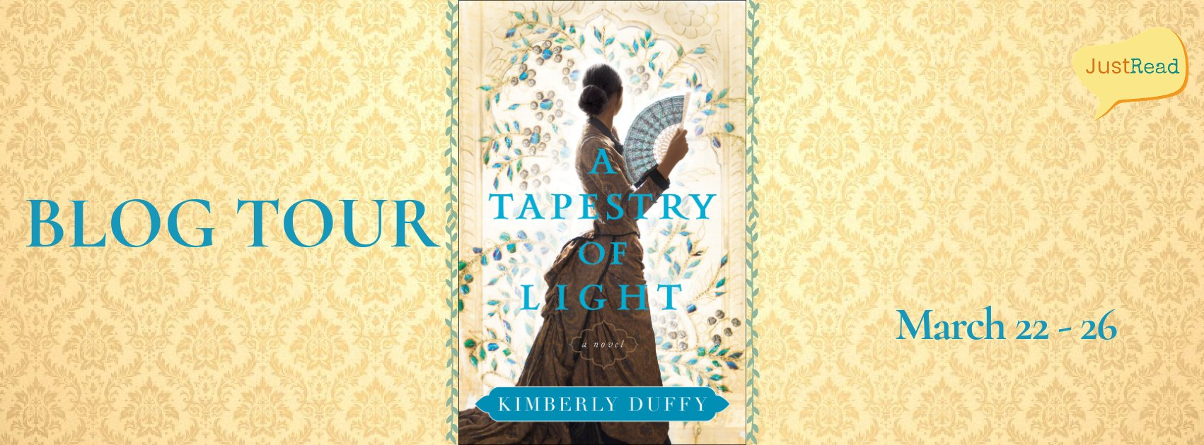 A Tapestry of Light JustRead Blog Tour