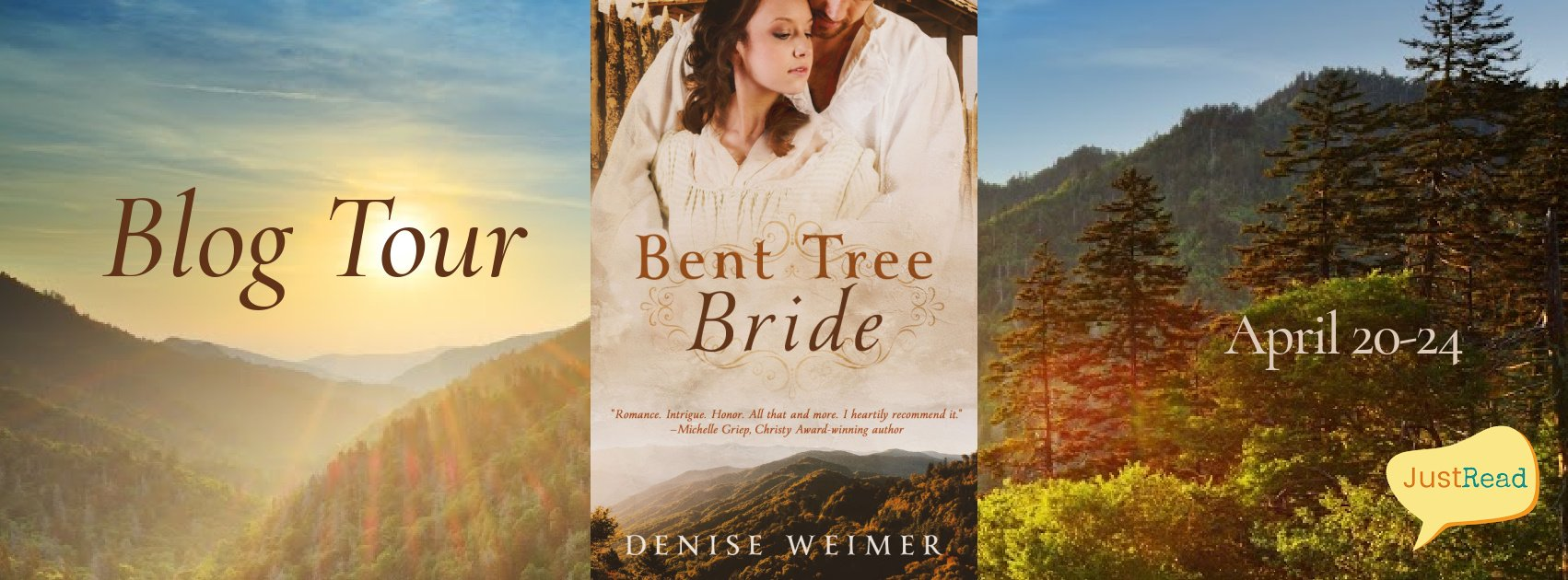 Bent Tree Bride JustRead Blog Tour
