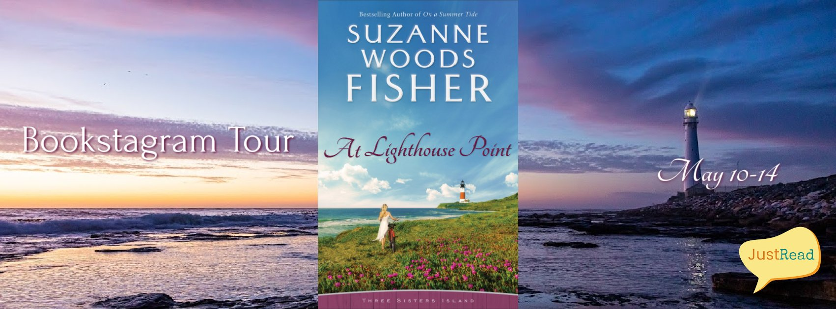 At Lighthouse Point JustRead Bookstagram Tour