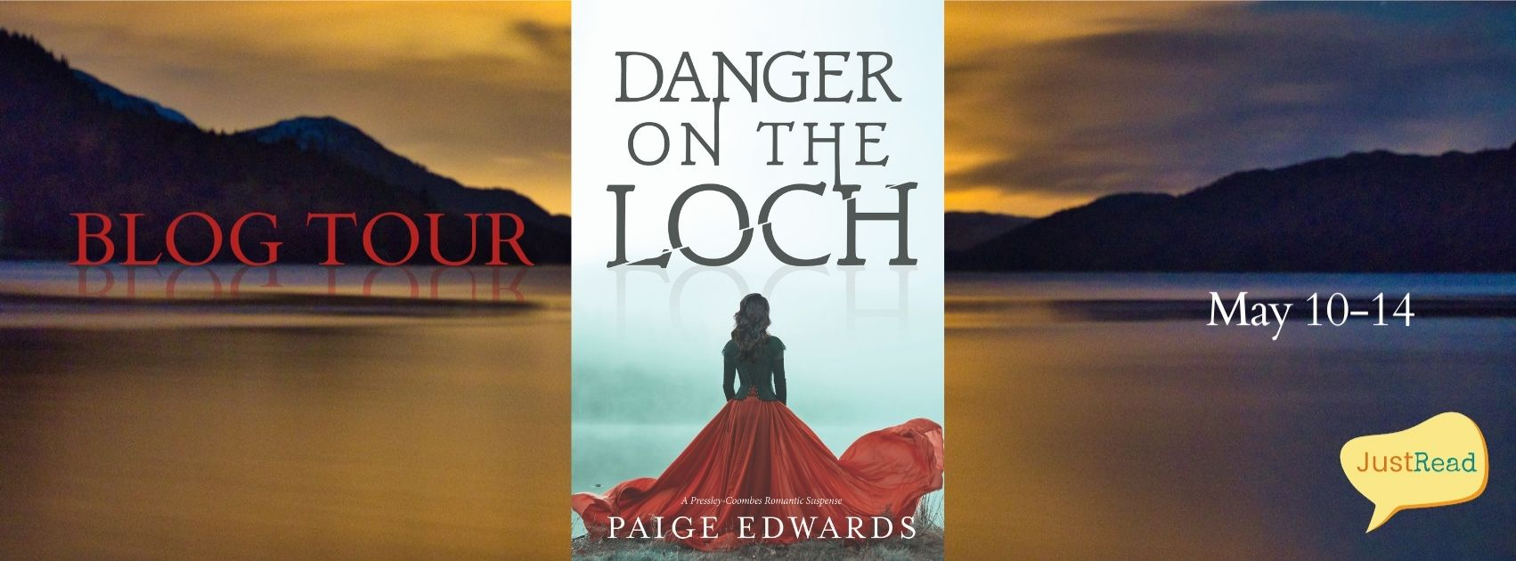 Danger on the Loch JustRead Blog Tour