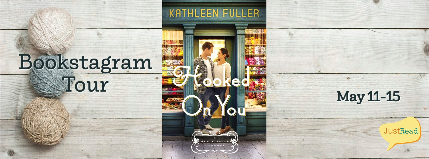 Hooked On You JustRead Bookstagram Tour